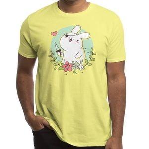 Threadless Badass Rabbit Lemon T-Shirt 3XL
